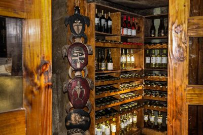 Wine storage room (Easter Island Ecolodge) (7)